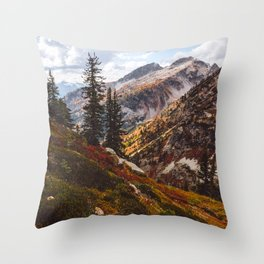 Alpine Autumn Throw Pillow