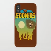 goonies iPhone & iPod Cases featuring The Goonies by tuditees