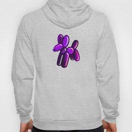Balloon Animal - Dog (purple) Hoody