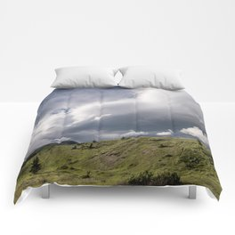 Watertown Skies and Rolling Hills Comforters