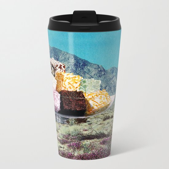 Desert Dessert Metal Travel Mug