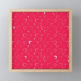 Made for you my heart 2 Framed Mini Art Print