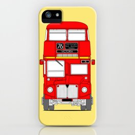 The Routemaster London Bus iPhone Case