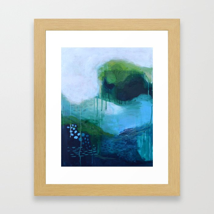 Mists No. 1 Framed Art Print