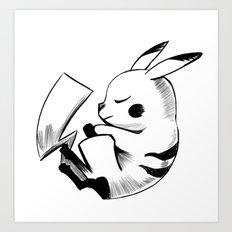 Pika Art Print