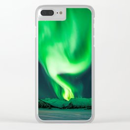The Northern Lights / Aurora Borealis Clear iPhone Case