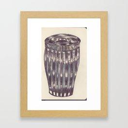Ballpen Bin from NYC 9 Framed Art Print