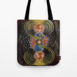 Solar Prayer Tote Bag