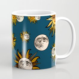Sunflower Eclipse Coffee Mug