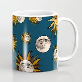 Sunflower Eclipse Coffee Mug