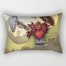 Viking Warrior Rectangular Pillow