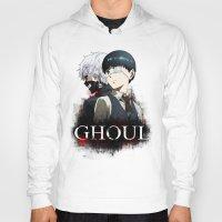 tokyo ghoul Hoodies featuring Tokyo Ghoul by 666HUGHES