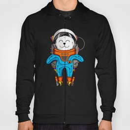 Intercatlactic! to the delicious Milky way!!! Hoody