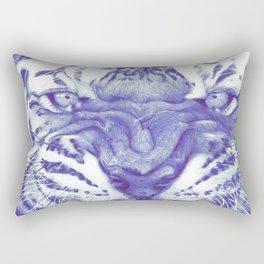 Roaring Tiger Rectangular Pillow