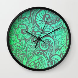 Summertime and the Livin's Easy Wall Clock
