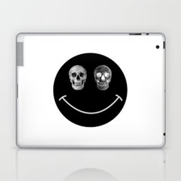 Just keep smiling Laptop & iPad Skin