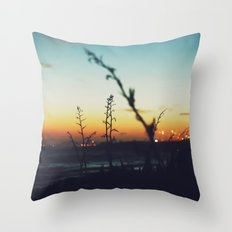 Away from the city Throw Pillow