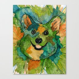 Squish Squish Canvas Print