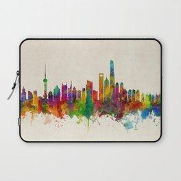 Shanghai China Skyline Laptop Sleeve