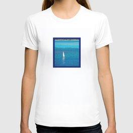 Perfect Blue Sailing Day T-shirt