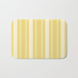 Buff Victorian Lady Stripe Bath Mat