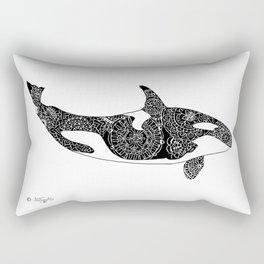 Flying  Orca Rectangular Pillow