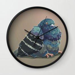 FAT PIGEON Wall Clock