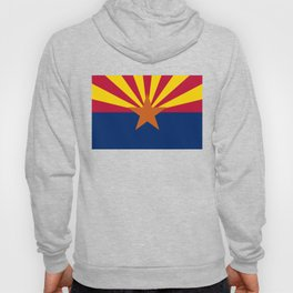 Arizona State flag, Authentic scale & color Hoody