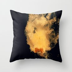 Jelly friends Throw Pillow