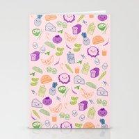 vegetarian Stationery Cards featuring vegetarian menu by Kristina Nuetzmann