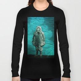 Ice cat is an explorer. Long Sleeve T-shirt