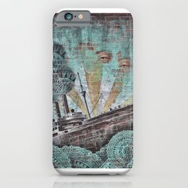 the boat wall iPhone Case