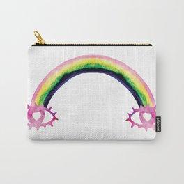 Boho Rainbow Love Eyes Carry-All Pouch