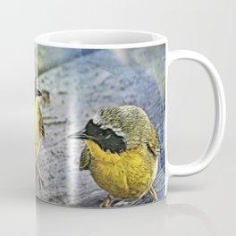 Yellowthroat Bird Coffee Mug