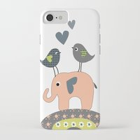 nursery iPhone & iPod Cases featuring Nursery Prints by Dani