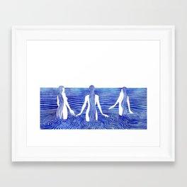 Sirens Call Framed Art Print