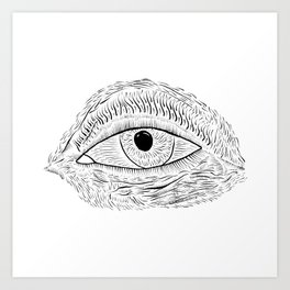 I Look Into That Art Print