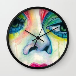 All Made Up Wall Clock