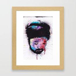 Nujabes - Mystique in Music Framed Art Print