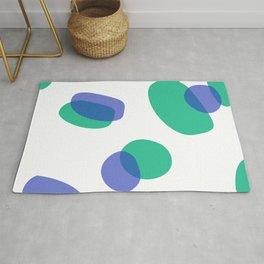 Design, Blue dots Rug