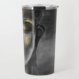Buddha Gray Travel Mug
