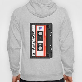 Tape Best Of 1989 Cassette Music Mix 1980s 1990s Outfit Tape Hoody