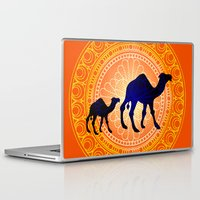 camel Laptop & iPad Skins featuring Camel by Katherine Marshall