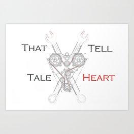 That Tell-Tale Heart Art Print