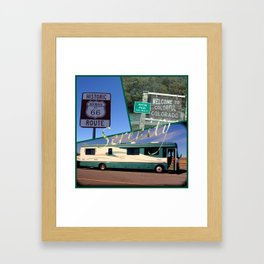 beaver RV Framed Art Print