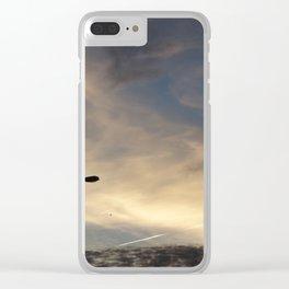 Light pole Clear iPhone Case