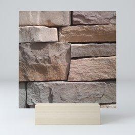 Artisan Masonry Stone Wall - Corbin Henry Mini Art Print