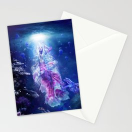 The Mermaid's Encounter Stationery Cards