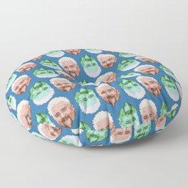 Guy Fieri Repeated Pattern Floor Pillow