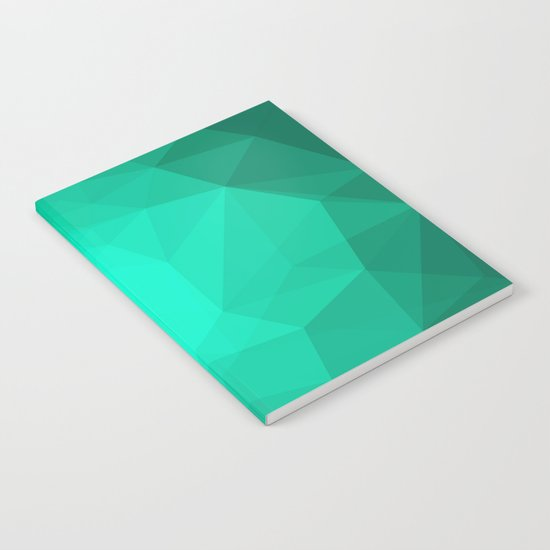 Geometric Polygonal Pattern 01 Notebook